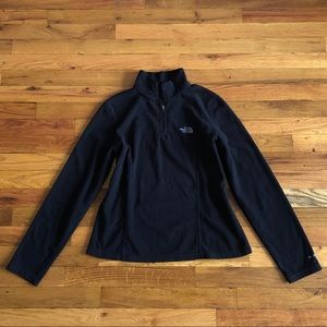 The North Face women's 1/4 zip fleece pullover